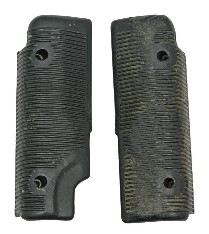 Handguard Set, Left & Right, Black Plastic, Original, Used, Fair to Good