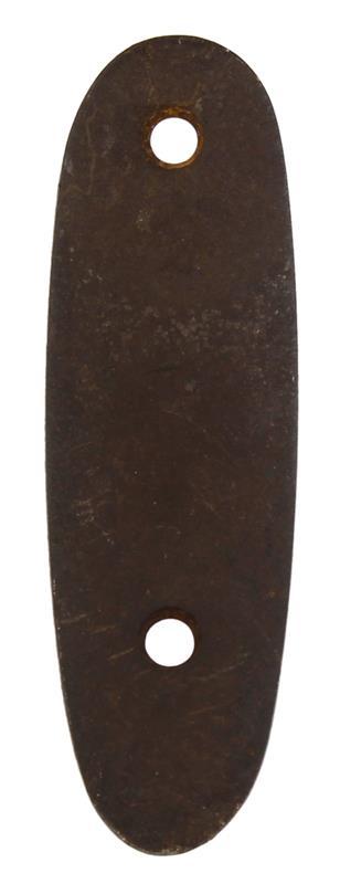 Buttplate, Metal, Original Used