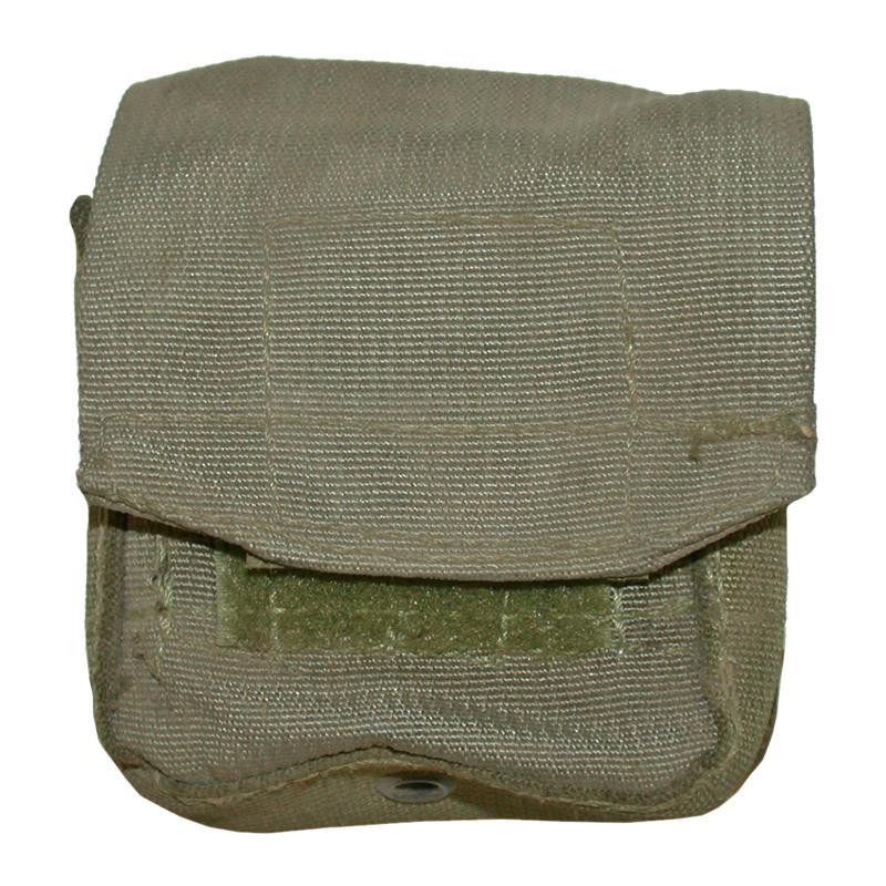 Case, Compact, Nylon (Israeli Surplus Olive Drab Case w/ Belt Hooks)