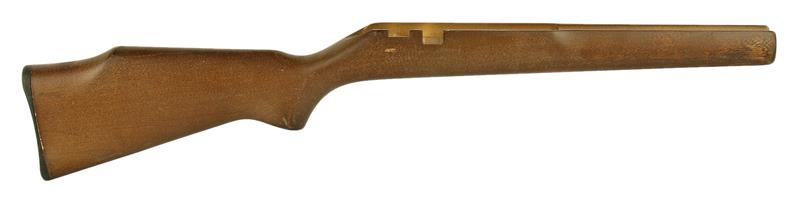 Stock, Plain Hardwood, Early Type Safety, Inletted For Guard