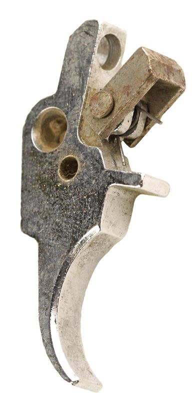 Trigger Assembly, Silver (w/ Adjusting Screw Hole)