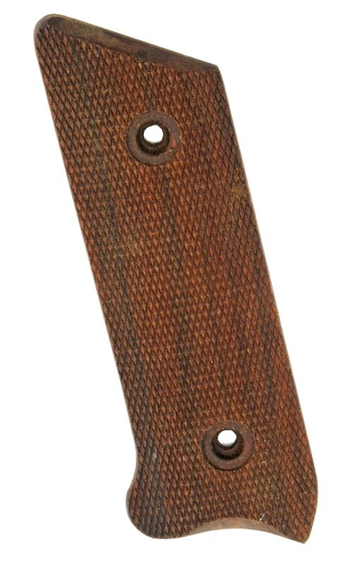 Grip, Left Side, Checkered Walnut, Mfg. by Sile