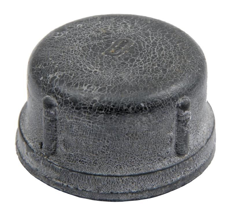 Muzzle Cap, Black Rubber, New Original