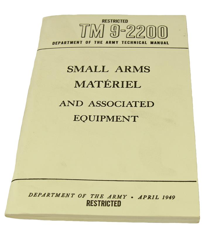 Small Arms Material & Associated Equipment