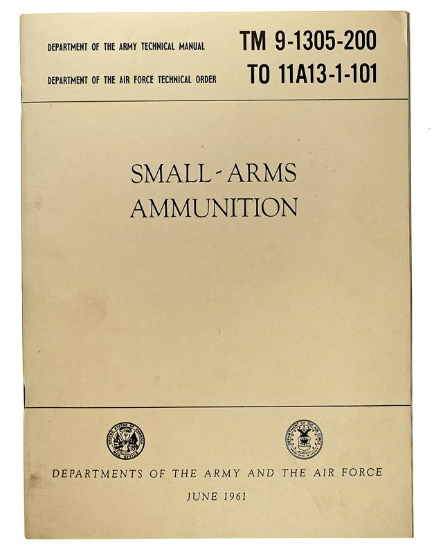 Small-Arms Ammunition, June 1961