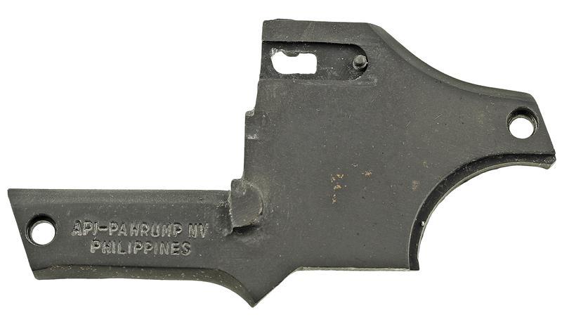 Sideplate, Black, Used Factory Original