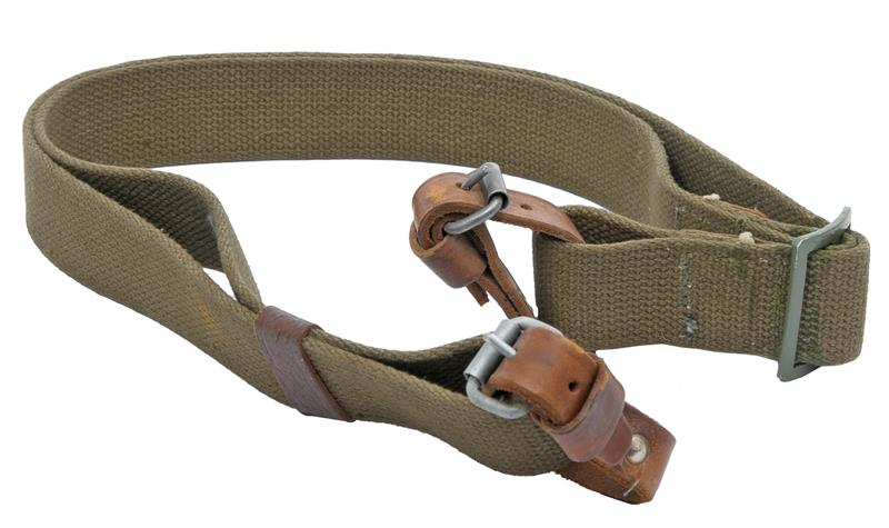 Sling, Dog Collar, Original, Canvas w/Leather Loops & Metal Buckles, Colors Vary