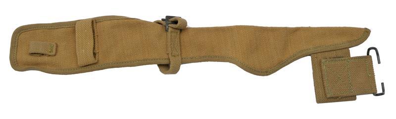 Pickaxe Belt Pouch, U.S. WWI, Khaki Canvas, Dated 1918, New