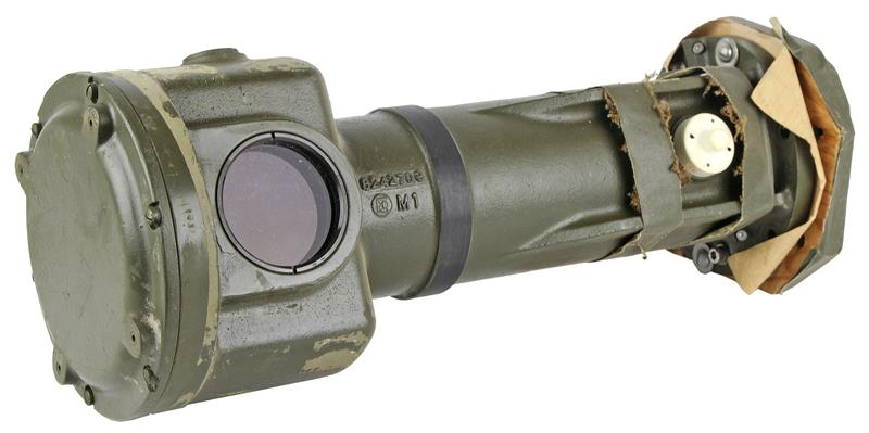 End Housing, Tank Mounted M24 Range Finder, Damaged Military Surplus