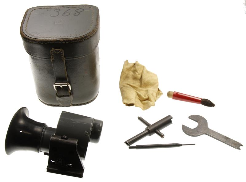 Optical Scope w/ Leather Carry Case & Accessories, Finnish M55