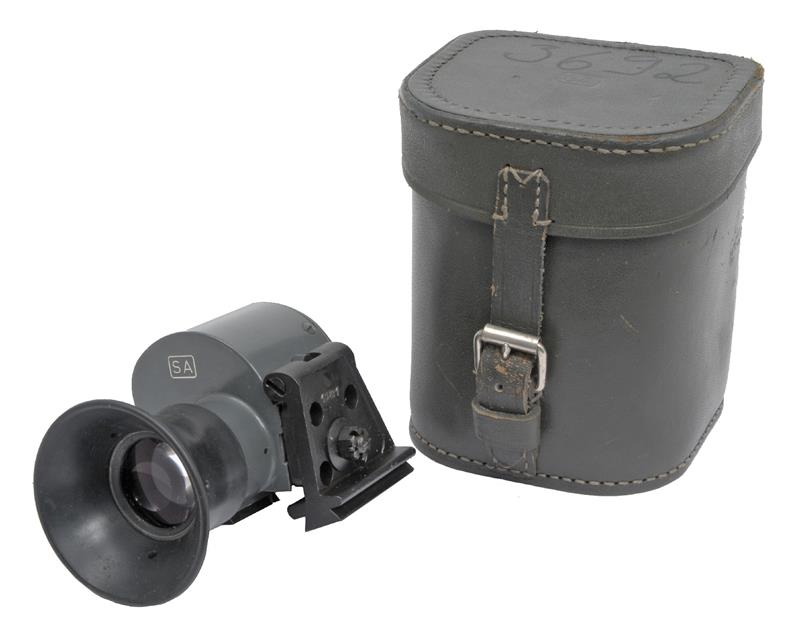 Optical Scope w/ Leather Carry Case Less Accessories, Finnish M55