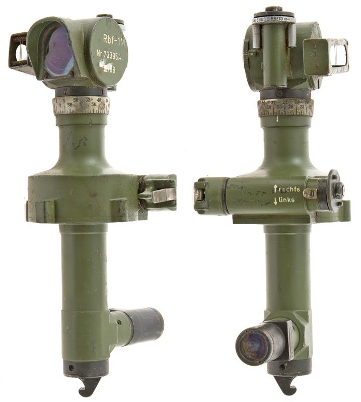 Panoramic Scope, Howitzer, Incomplete or Damaged, Sold as is