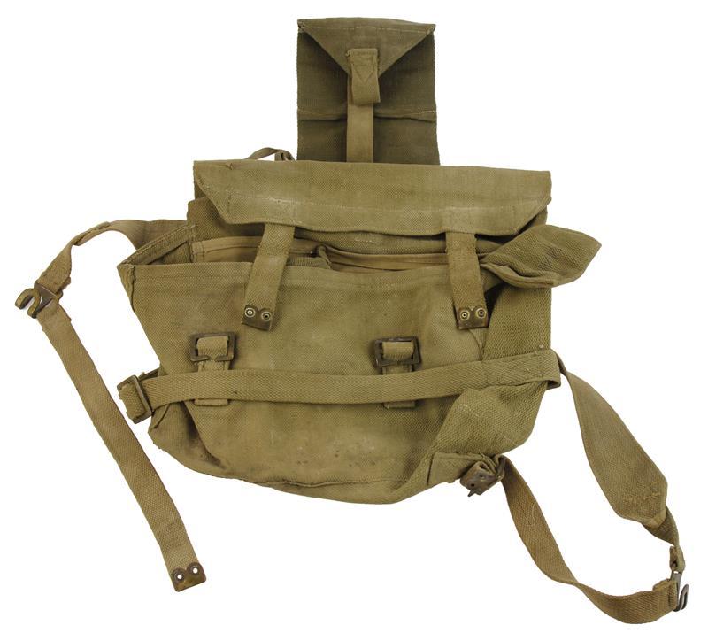 British Web Back Pack, Used Factory Original