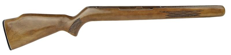 Stock, Takes Top Safety, Inletted For Trigger Guard. Monte Carlo, Ckrd Hardwood