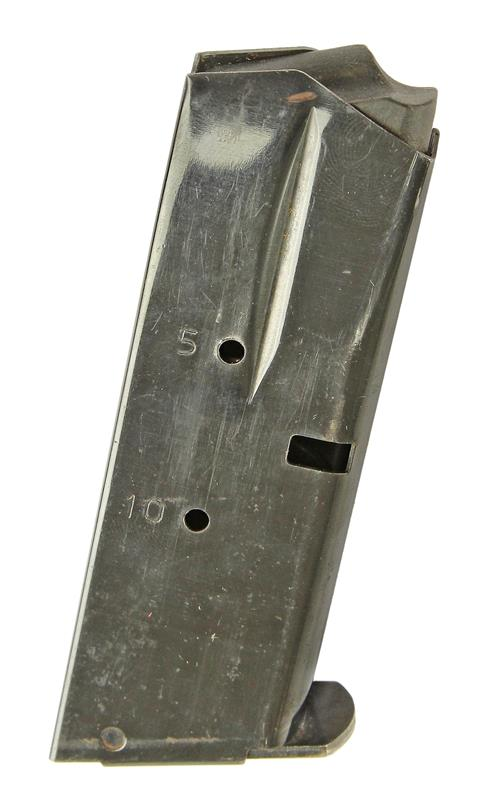 Magazine, 9mm, 10 Round, Blued, Used (for Single Mag Catch; Factory)