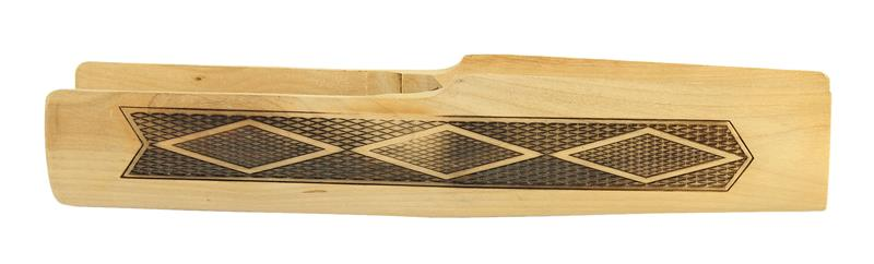 Forend, 12, 16 & 20 Ga., Unstained Checkered Hardwood (5-1/4