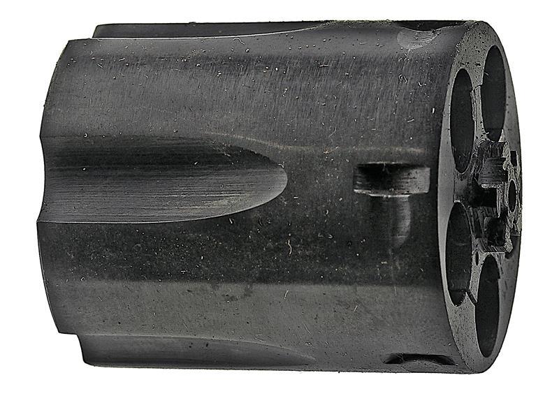 Cylinder Assembly, .38 Spec, Left Thread, Blued, Used, Original