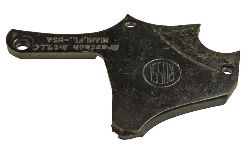 Sideplate, .38 &.357 Cal., Medium Frame, 6 Shot, Blued, Used Factory Original