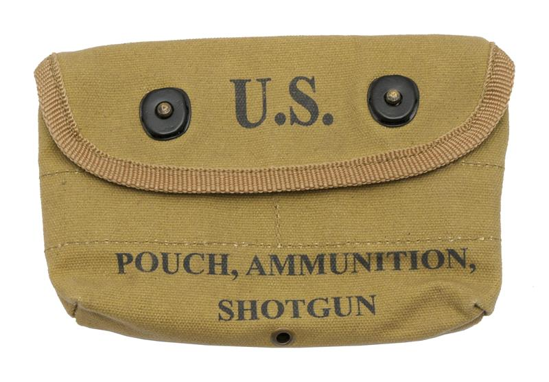 Shotgun Ammo Pouch, Reproduction (Marked 1943 Tweedies)