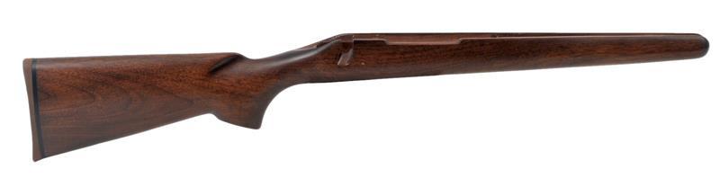 Stock, L/A, BDL, RH, Plain Walnut, Satin Finish, Rifle Pad, QD Swivel Stud Holes