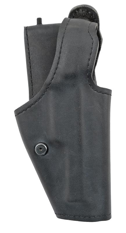 Holster,RH Level 1 Low Ride Duty, Safariland 2005, RH, Black Leather, Plain, New