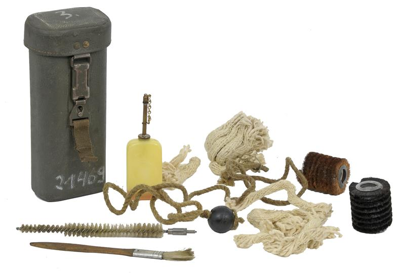 Cleaning Kit, Panzerfaust 44mm Grenade Launcher, East German, Used G to VG - -
