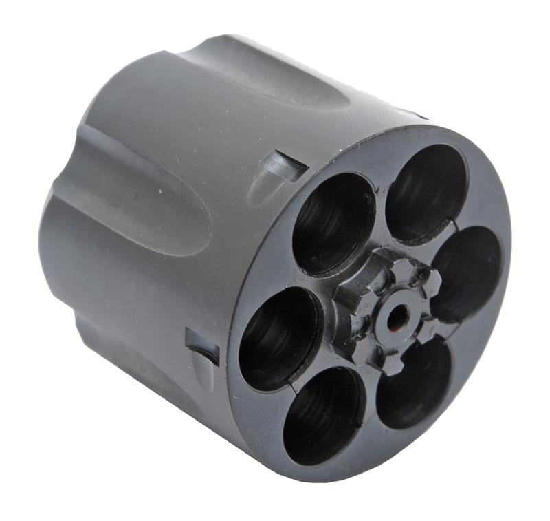 Cylinder Assembly, .45 ACP, 6 Shot, Fluted, Blued, New Factory Original