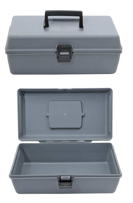 Tool Box, Gray Plastic, New