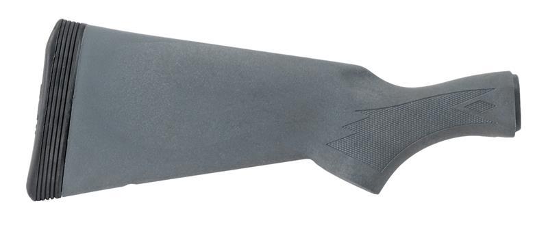 Stock, 12 Ga., Checkered, Gray Synthetic, New Factory Original