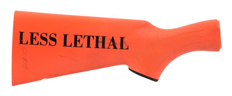 Stock Less Pad, 12 Ga., Safety Orange Synthetic, Ckrd, Marked Less Lethal