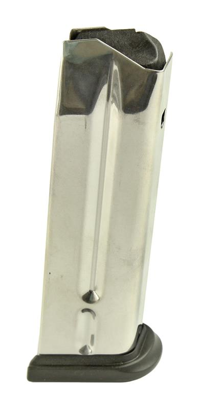 Magazine, 9mm, 10 Round, Stainless, New (Full-Size; Factory)