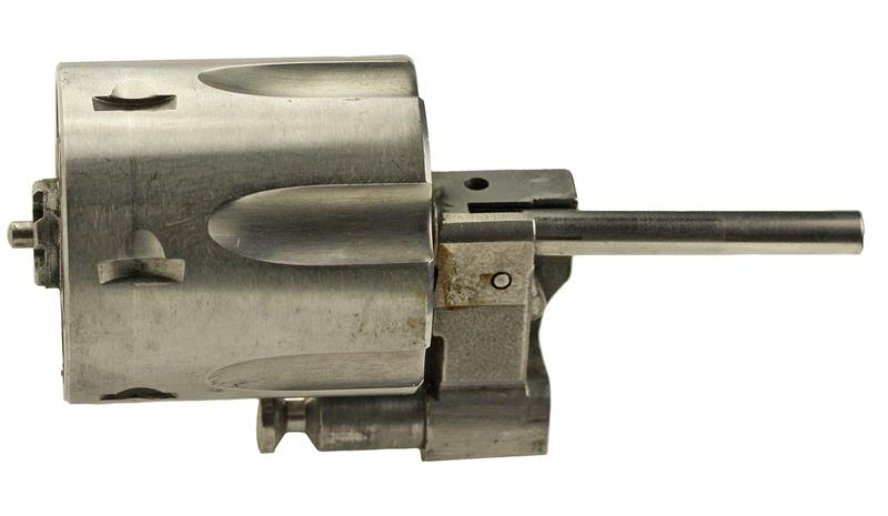 Cylinder Assembly, .357 Mag, Stainless (w/ Crane, Ejector Rod & Extractor)