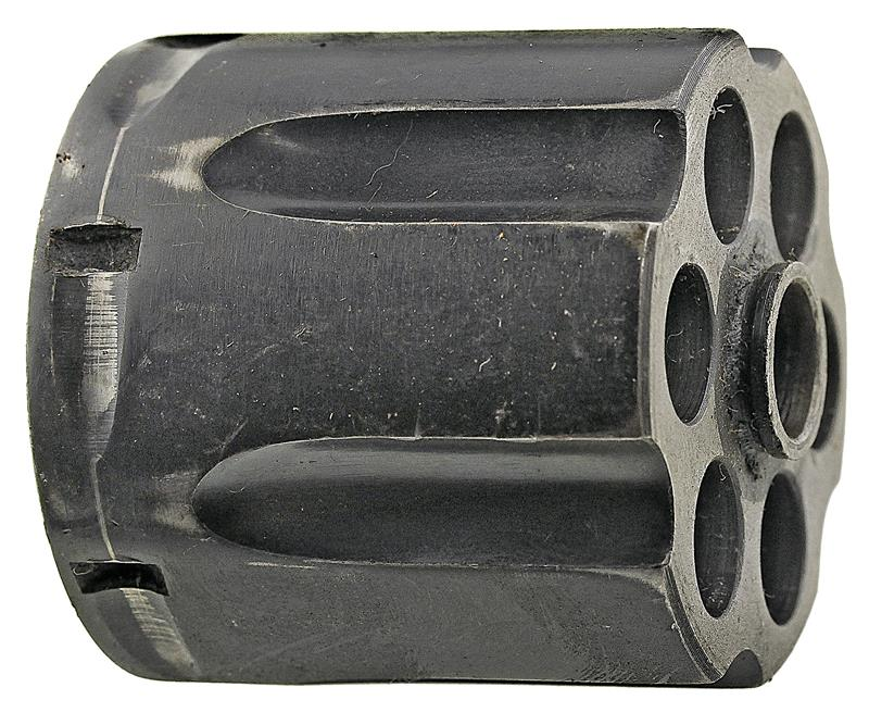 Cylinder, .38 Spec, Stripped, Old Style, Blued, Used Factory Original