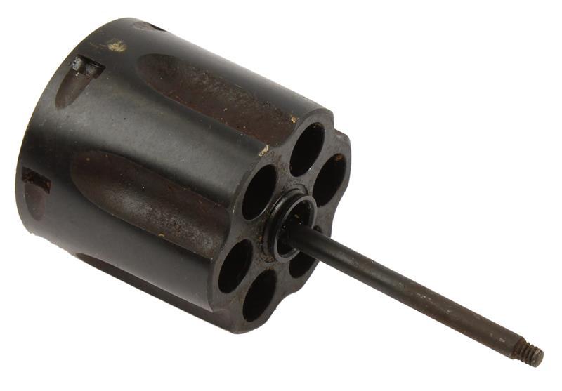 Cylinder w/ Ratchet, .38 Spec, Old Style, Blued, Used Factory Original