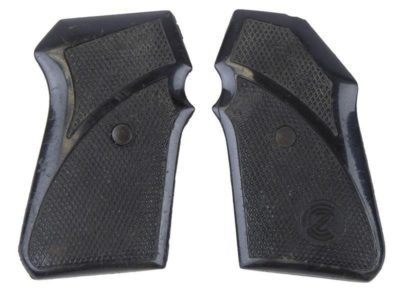 Grips, Black Plastic, Used