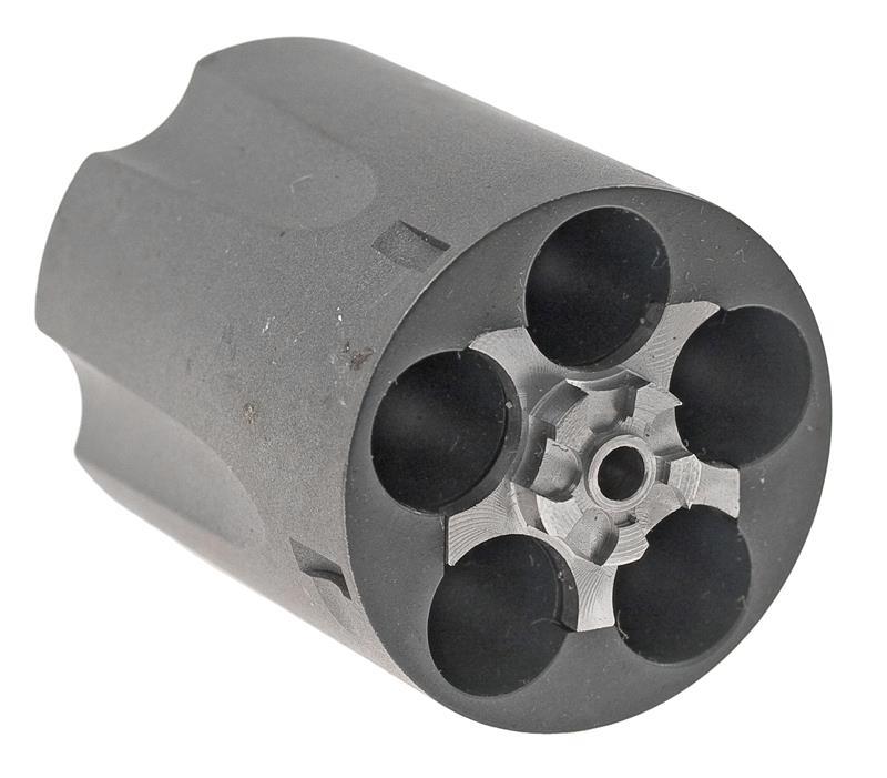 Cylinder Assembly, .38 Special, Fluted, 5 Shot, Titanium, Factory Original
