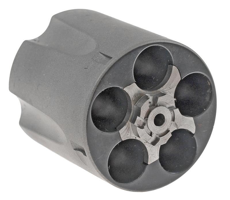 Cylinder Assembly, .44 Spec, 5 Shot, Fluted, Titanium, New Factory Original
