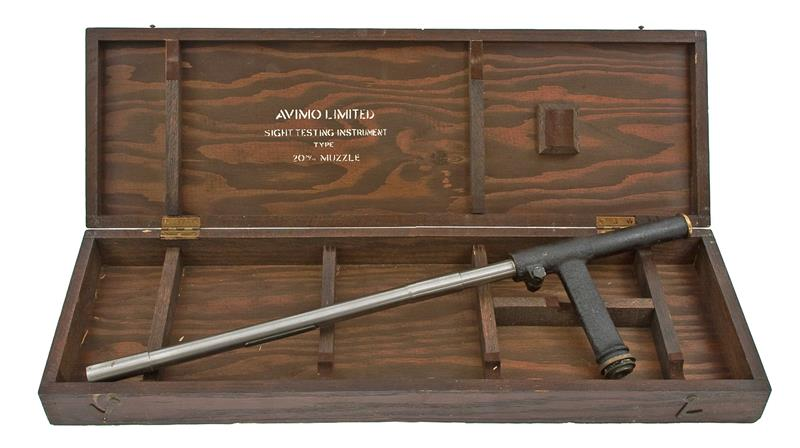 Avimo Limited 20mm Muzzle Sighting Instrument w/ Case, Used