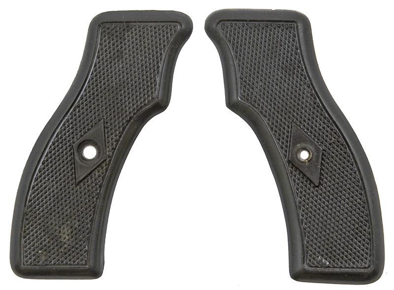 Grips, Original, Black Checkered Plastic