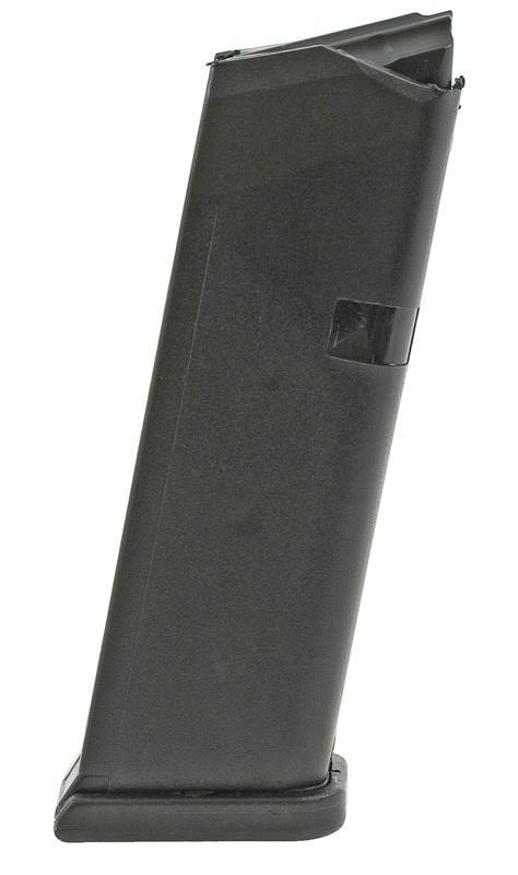 Magazine, 9mm, 15 Round, Black Polymer (Drop Free; Korean)