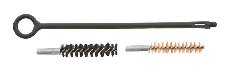 Cleaning Rod w/ Nylon & Bronze Brushes, New