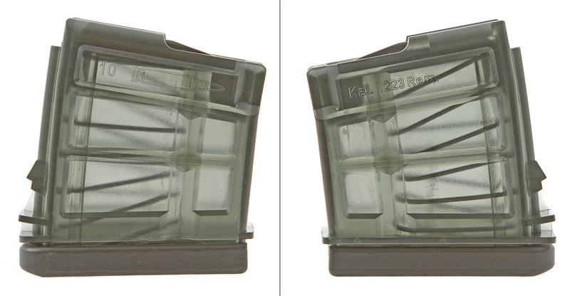 Magazine, .223 Cal., 10 Round, Clear Plastic, New (Factory)