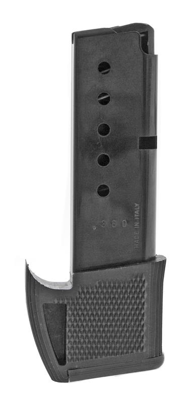 Magazine, .380 ACP, 9 Round, Blued, New (w/ Grip Extension; Factory)