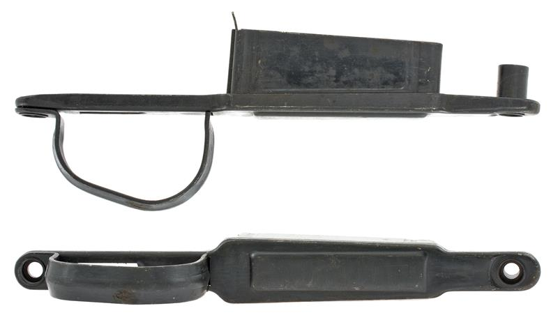 Trigger Guard, Winter, Stamped Blued Steel (w/ Floorplate; Non-Lock Screw Type)
