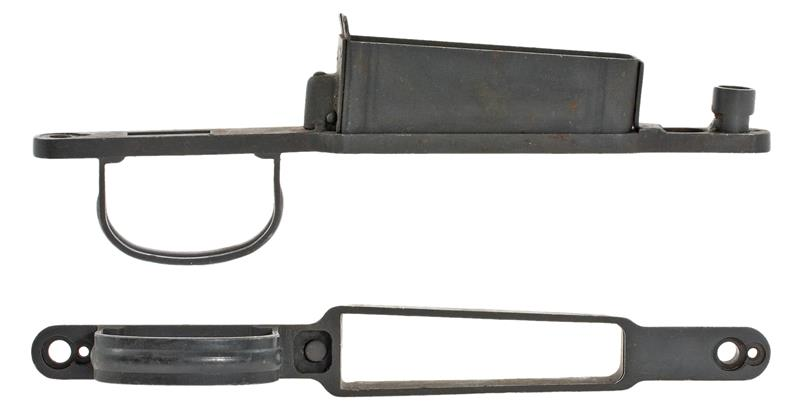 Trigger Guard, Israeli, Post WWII, Milled/Stamped, Blued (w/o Serial Number)