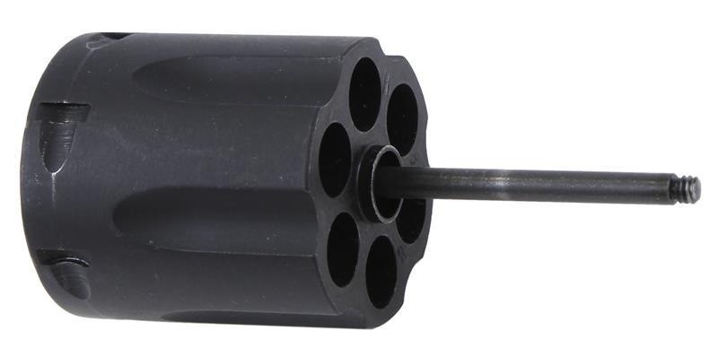 Cylinder, .38 Spec, 6 Shot, Blued w/ Ejector & Rod, Used Factory Original