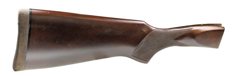 Stock, .410 Ga., For Pointed Top Tang, Pistol Grip, Checkered w/Recoil Pad