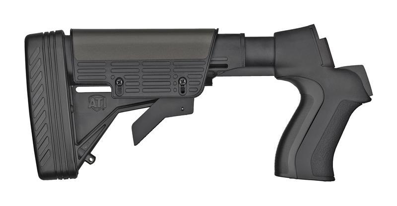 Stock, 12 Ga., Talon T2,  Adjustable, Black w/3M Industrial Grade Pad, New, ATI
