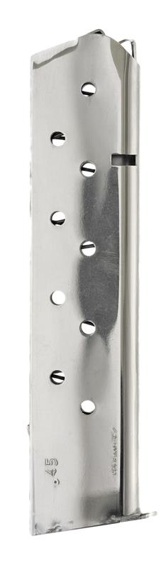 Magazine, .45 ACP, 10 Round, Nickel, New (Mec-Gar)