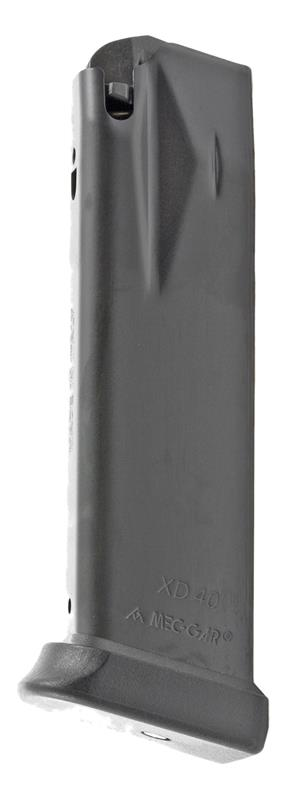 Magazine, .40 S&W, 13 Round, Matte Black, New (Flush-Fit; Mec-Gar)